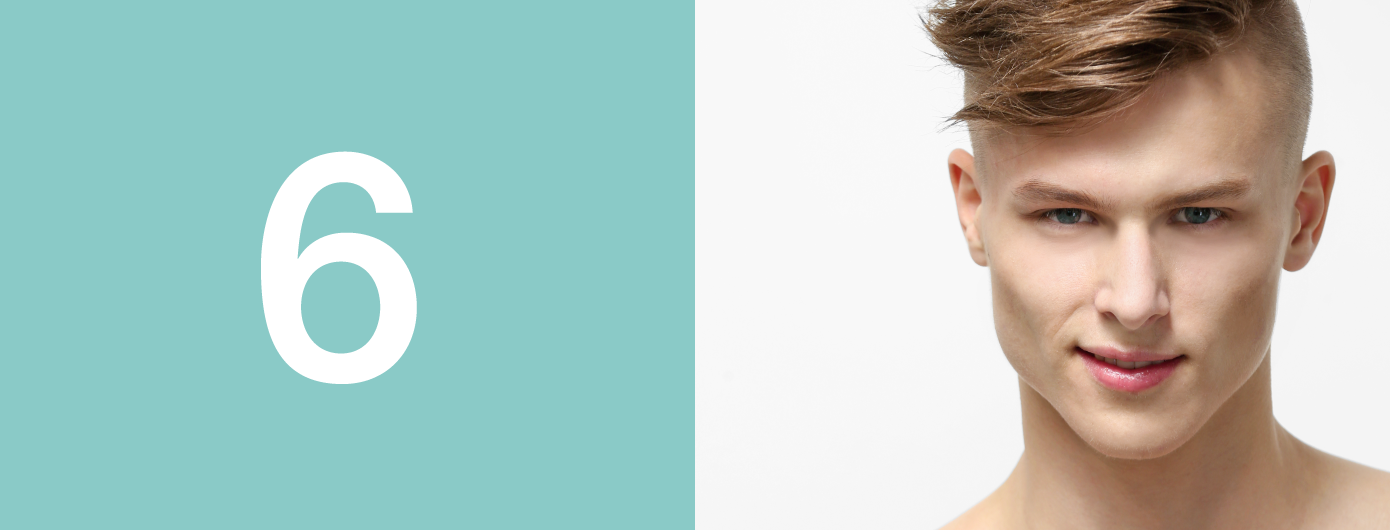 Pele masculina: seis características principais