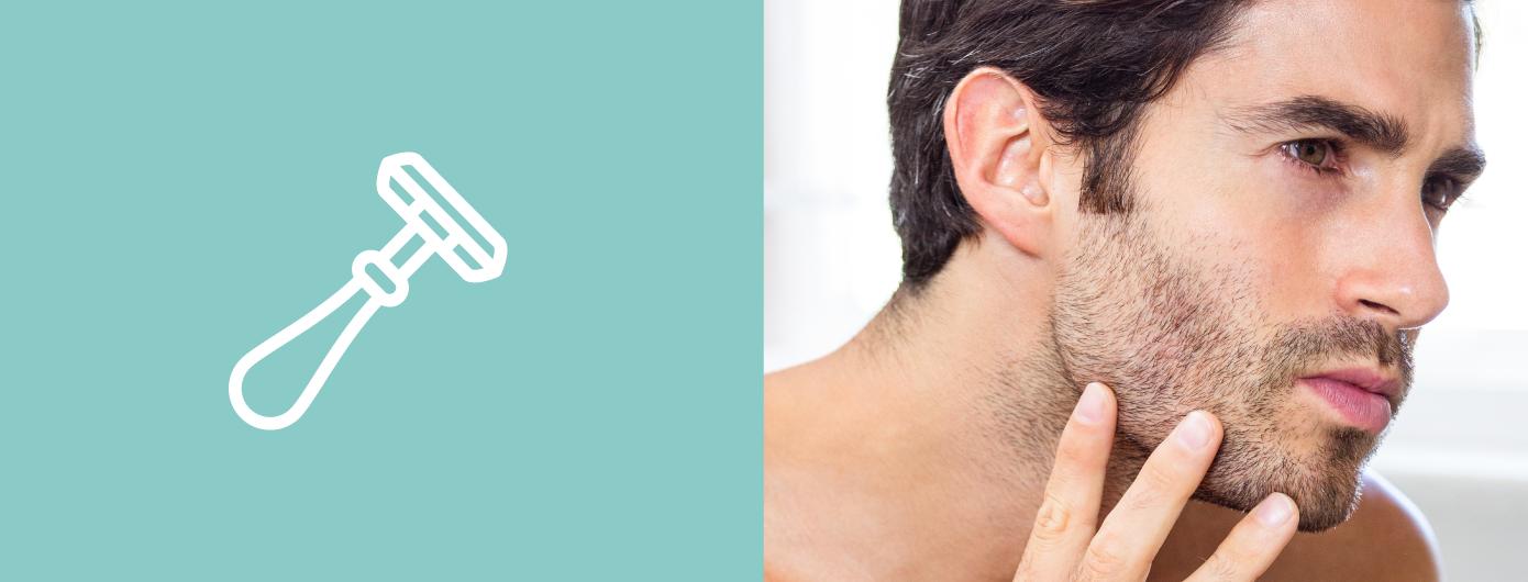 Pseudofolicolite da barba: a inflamação característica do barbear