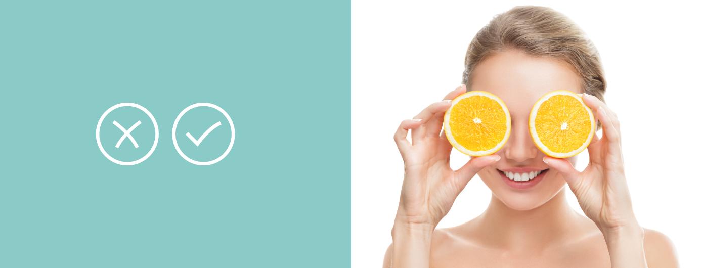 Vitamina C para o rosto: Confira os benefícios